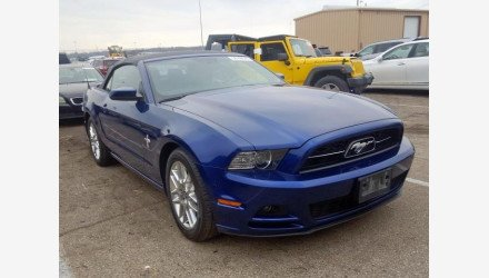 2014 Ford Mustang Convertible for sale 101253764