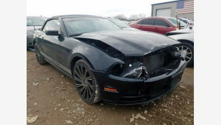 2014 Ford Mustang Convertible for sale 101290641