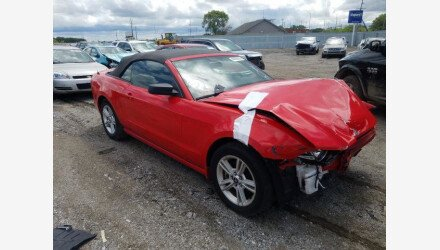 2014 Ford Mustang Convertible for sale 101360196