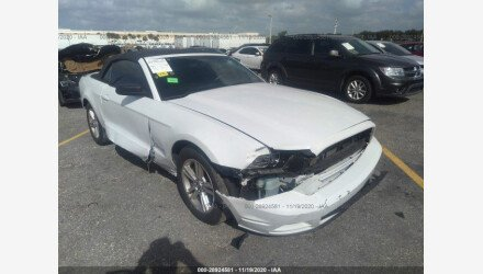 2014 Ford Mustang Convertible for sale 101437119
