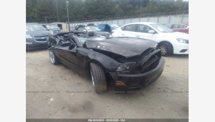 2014 Ford Mustang Convertible for sale 101442235