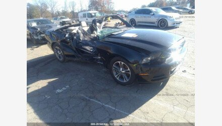 2014 Ford Mustang Convertible for sale 101442281
