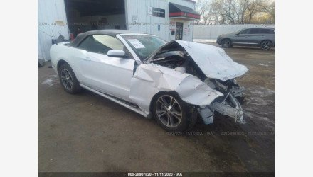2014 Ford Mustang Convertible for sale 101446589