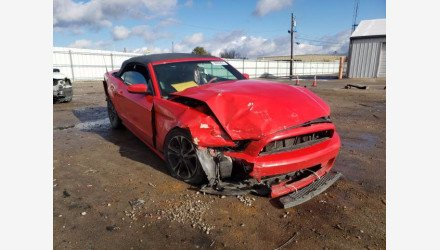 2014 Ford Mustang Convertible for sale 101463231