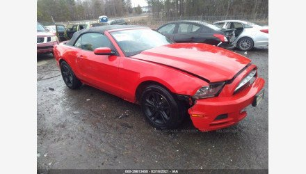 2014 Ford Mustang Convertible for sale 101489217