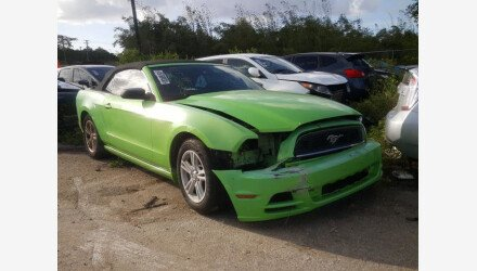 2014 Ford Mustang Convertible for sale 101494143