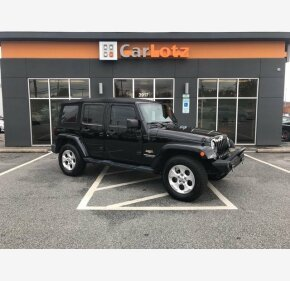 2014 Jeep Wrangler 4WD Unlimited Sahara for sale 101059190