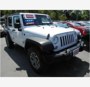 2014 Jeep Wrangler 4WD Unlimited Sport for sale 101146223