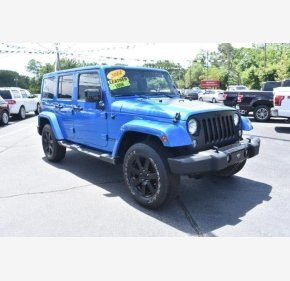 2014 Jeep Wrangler 4WD Unlimited Sahara for sale 101150793