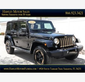 2014 Jeep Wrangler 4WD Unlimited Sahara for sale 101183557