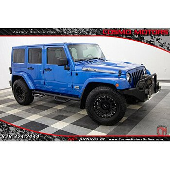 2014 Jeep Wrangler 4WD Unlimited Sahara for sale 101217007