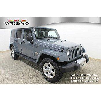 2014 Jeep Wrangler 4WD Unlimited Sahara for sale 101247459