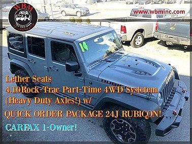 2014 Jeep Wrangler for sale 101412056