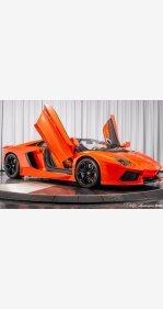 2014 Lamborghini Aventador LP 700-4 Roadster for sale 101305820