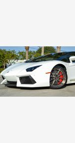 2014 Lamborghini Aventador LP 700-4 Roadster for sale 101446547