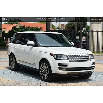2014 Land Rover Range Rover Autobiography for sale 101115182