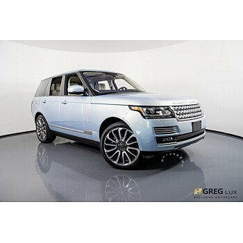 2014 Land Rover Range Rover Autobiography for sale 101162119