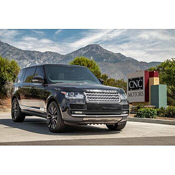 2014 Land Rover Range Rover Long Wheelbase Supercharged for sale 101186504