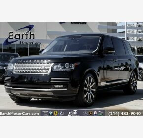 2014 Land Rover Range Rover Long Wheelbase Autobiography for sale 101204057