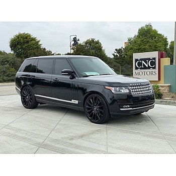 2014 Land Rover Range Rover Long Wheelbase Supercharged for sale 101214295