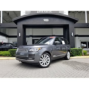 2014 Land Rover Range Rover for sale 101333396