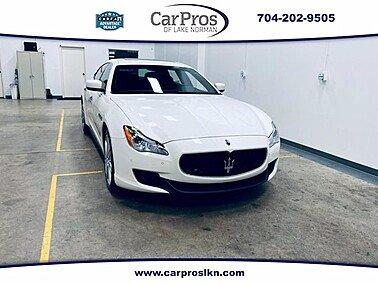 2014 Maserati Quattroporte for sale 101516083