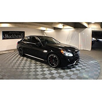 2014 Mercedes-Benz E63 AMG S-Model 4MATIC Sedan for sale 101080228