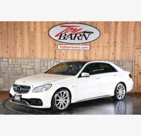 2014 Mercedes-Benz E63 AMG S-Model 4MATIC Sedan for sale 101074626