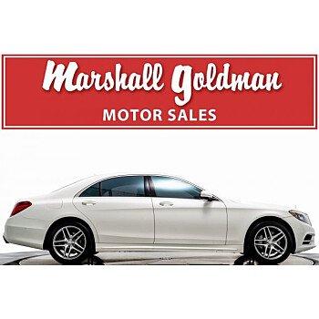 2014 Mercedes-Benz S550 Sedan for sale 101112482