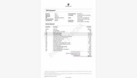 2014 Porsche Cayenne S for sale 101431604