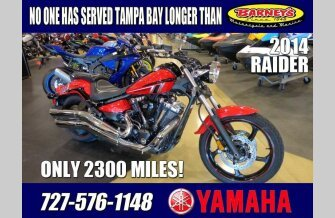 2014 Yamaha Raider for sale 200600410