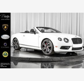 2015 Bentley Continental GT V8 S Convertible for sale 101224053