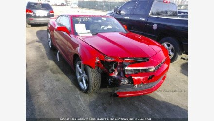 2015 Chevrolet Camaro LT Coupe for sale 101109039