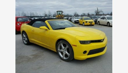 2015 Chevrolet Camaro LT Convertible for sale 101110799