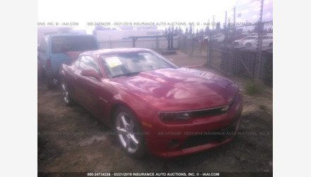 2015 Chevrolet Camaro LT Coupe for sale 101119704