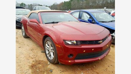 2015 Chevrolet Camaro LT Convertible for sale 101128241