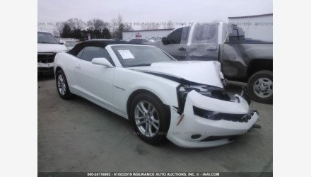 2015 Chevrolet Camaro LT Convertible for sale 101128362