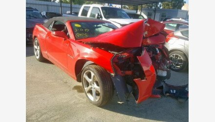 2015 Chevrolet Camaro LT Convertible for sale 101180790