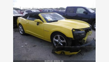 2015 Chevrolet Camaro LT Convertible for sale 101206943