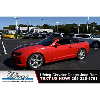 2015 Chevrolet Camaro SS Convertible for sale 101216219