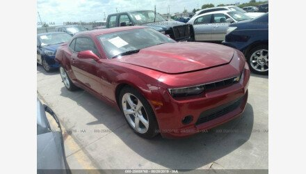 2015 Chevrolet Camaro LT Coupe for sale 101218754