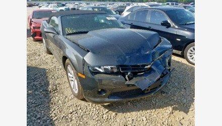2015 Chevrolet Camaro LT Convertible for sale 101223831