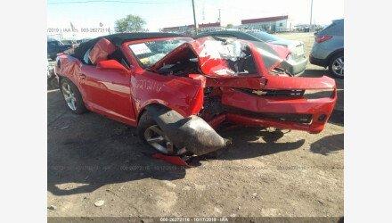 2015 Chevrolet Camaro LT Convertible for sale 101239941