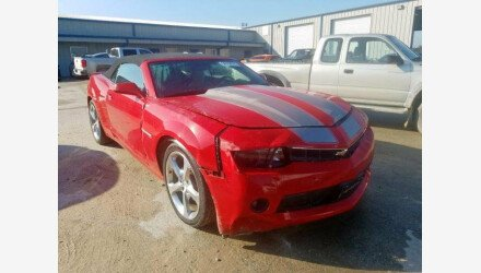 2015 Chevrolet Camaro LT Convertible for sale 101244689