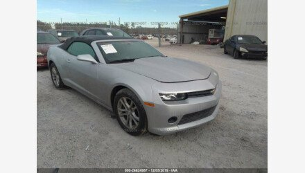 2015 Chevrolet Camaro LT Convertible for sale 101249905