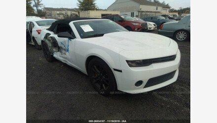 2015 Chevrolet Camaro LT Convertible for sale 101266591