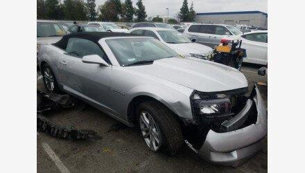 2015 Chevrolet Camaro LT Convertible for sale 101280791