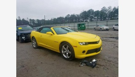 2015 Chevrolet Camaro LT Convertible for sale 101306217