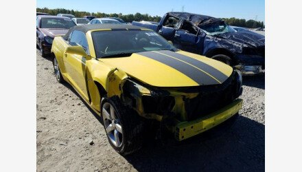 2015 Chevrolet Camaro LT Convertible for sale 101413822