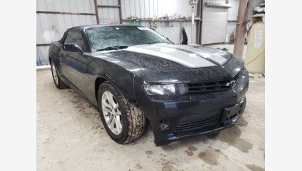 2015 Chevrolet Camaro LT Convertible for sale 101434743